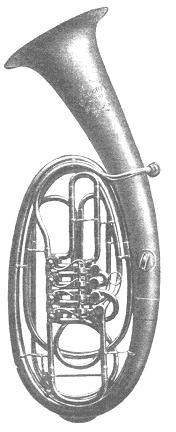 Wagner tuba in F made by Max Enders, Mainz (author's collection)